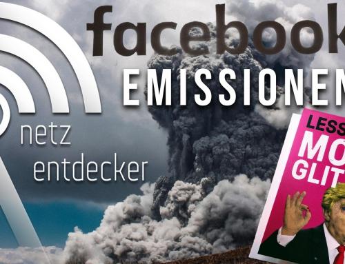Facebooks Emissionen