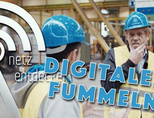 Digitales Fummeln