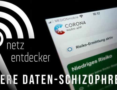 Unsere Daten-Schizophrenie